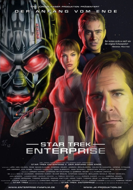 This Is Part 2 Of A Two Series Based On The Star Trek Enterprise And Filmed Using Elaborate Scale Sets Action Figures